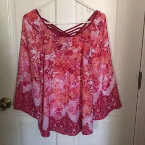 Blouse - Floral (worn once)